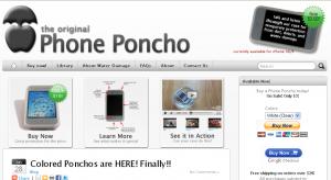 phone poncho